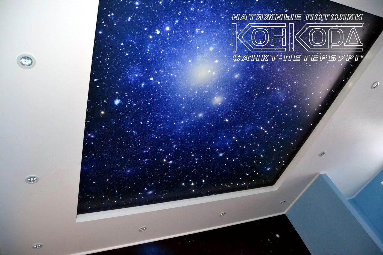 потолки звездное небо фото
