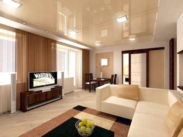 Космический дизайн комнат