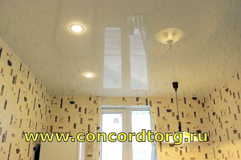 Натяжные потолки для