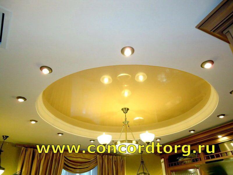 Круглый потолок фото