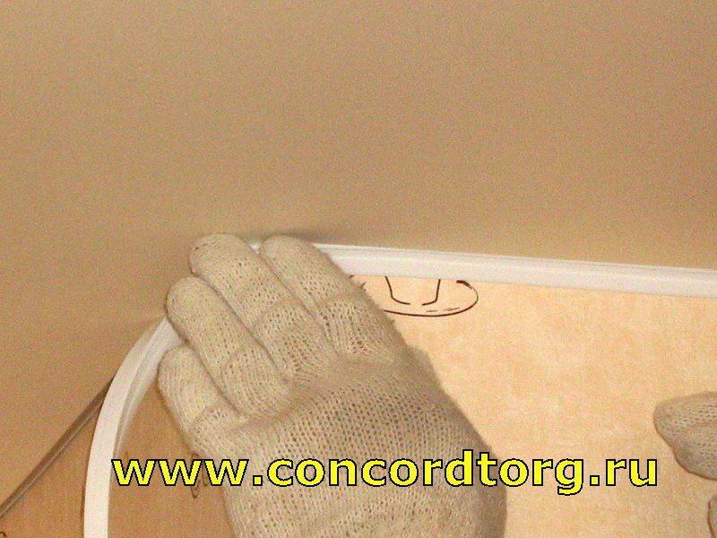 Натяжной потолокдо обоев или после  Идеи для ремонта